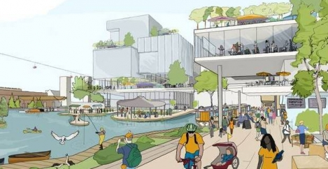 Plans announced for Digital City on Toronto waterfront