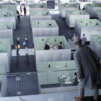 People who work in an open plan office feel worse and are less satisfied