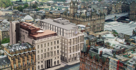 Record office take up in Edinburgh last year, boosted by burgeoning tech sector
