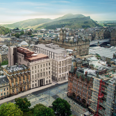 Demand for office space in Edinburgh city centre augmented by a lack of supply