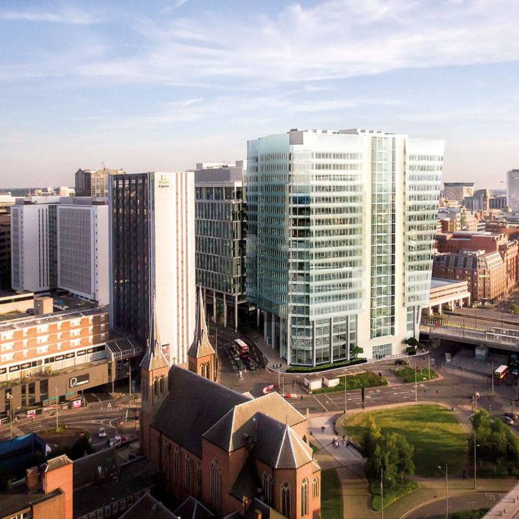 Commercial office market take-up in Birmingham has exceeded one million sq ft