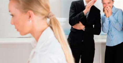 Not funny. Women twice as likely to be negatively affected by workplace banter as men