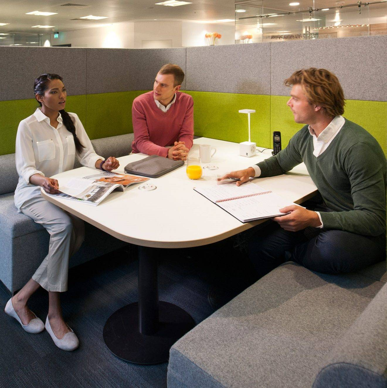 Office design should take account of the quality of interactions as well as quantity