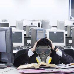 Study finds UK productivity being damaged by high C02 levels in offices