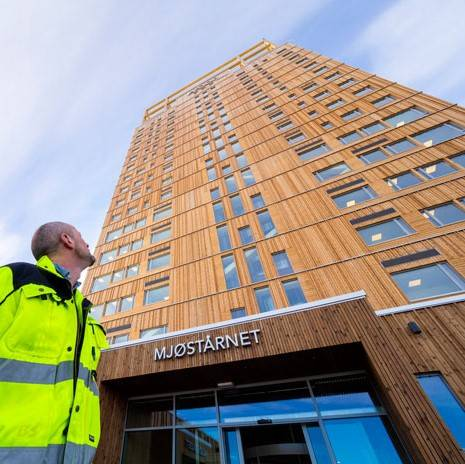 Tower in Norway confirmed as tallest timber building in world