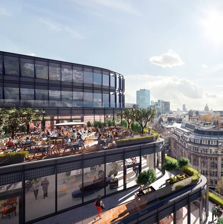 Take up of office space in central London strongest for six years
