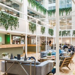 WeWork offices in London are a great example of modern office design