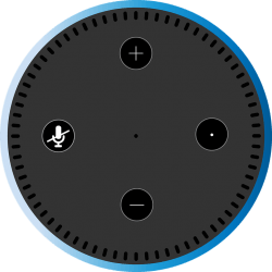 Amazon Alexa Dot, one of a new generation of connected devices