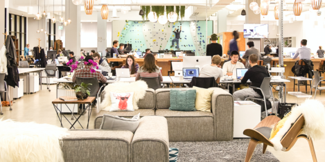 London leads the way in coworking
