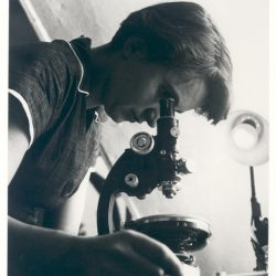Rosalind Franklin working and inspiring women into STEM fields
