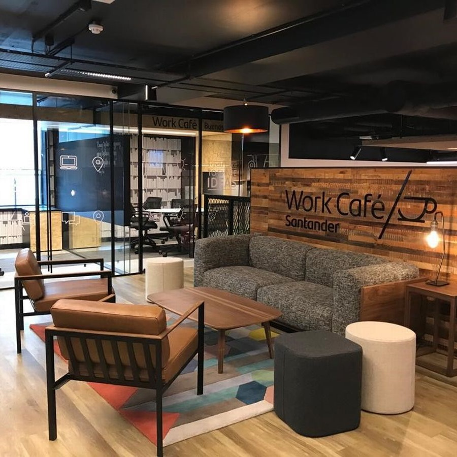 Work Cafe represents a new form of coworking and retail space