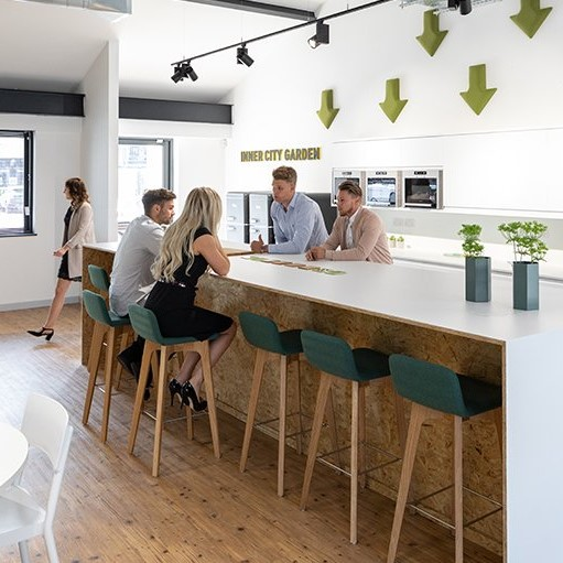 cafe culture in office design