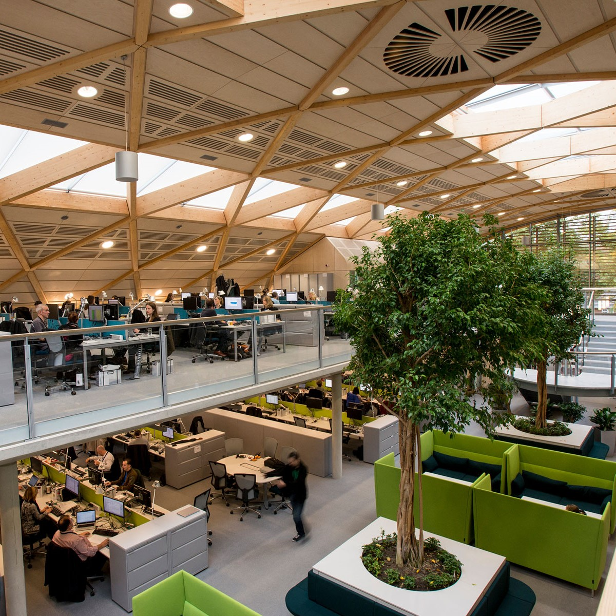 The WWF Living Planet Centre gives a taste of the office of the future