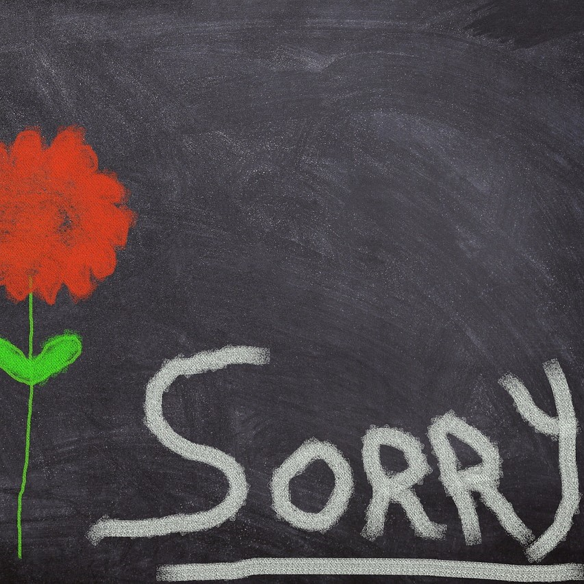 The unexpected benefits of not saying sorry