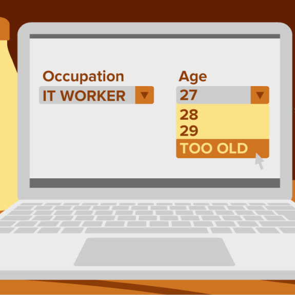 Age discrimination now begins for tech workers at 29