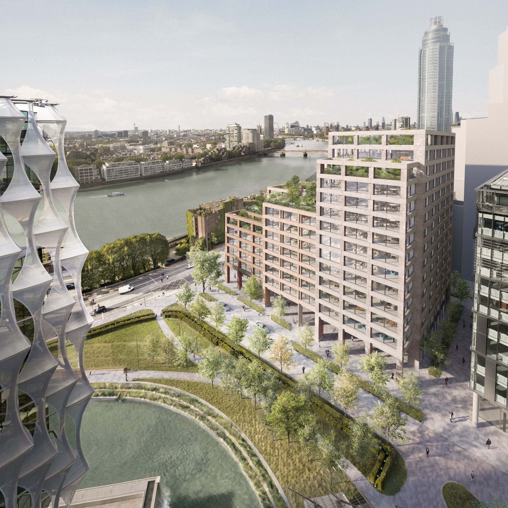 Planning permission granted for new 13 storey London offices