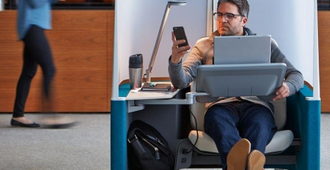 Office design in the US now more closely aligned with needs of workers