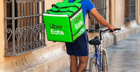 """Uber workers cling to """"precarious"""" existence"""