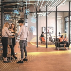 New smart building suite for a people centric  workplace experience