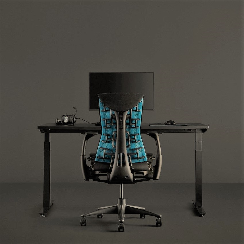 Herman Miller and Logitech launch gaming edition of Embody chair