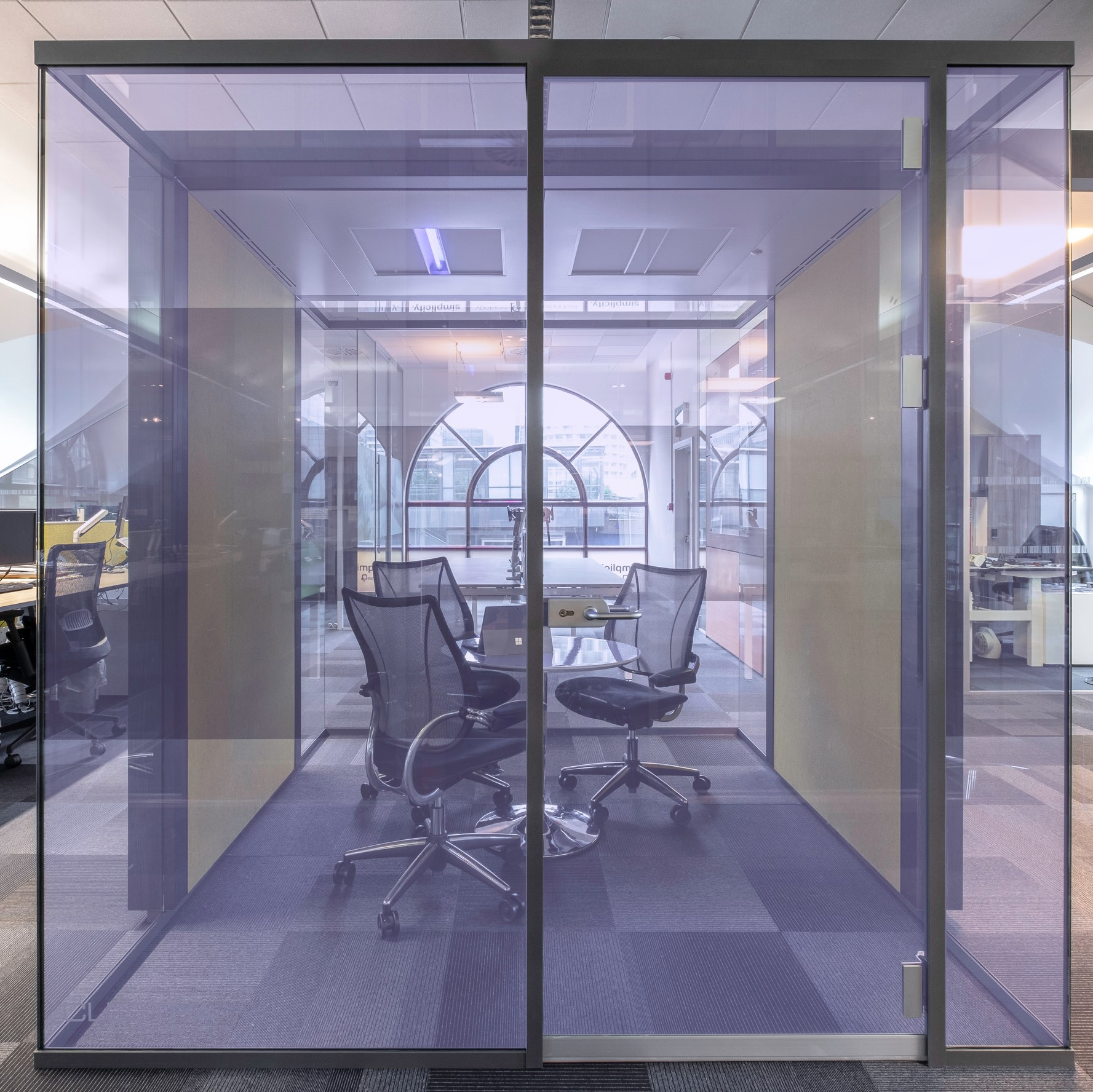 IRYS pod provides ultimate reassurance and comfort for your workforce