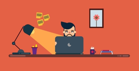 People struggle with home working environments and solitude