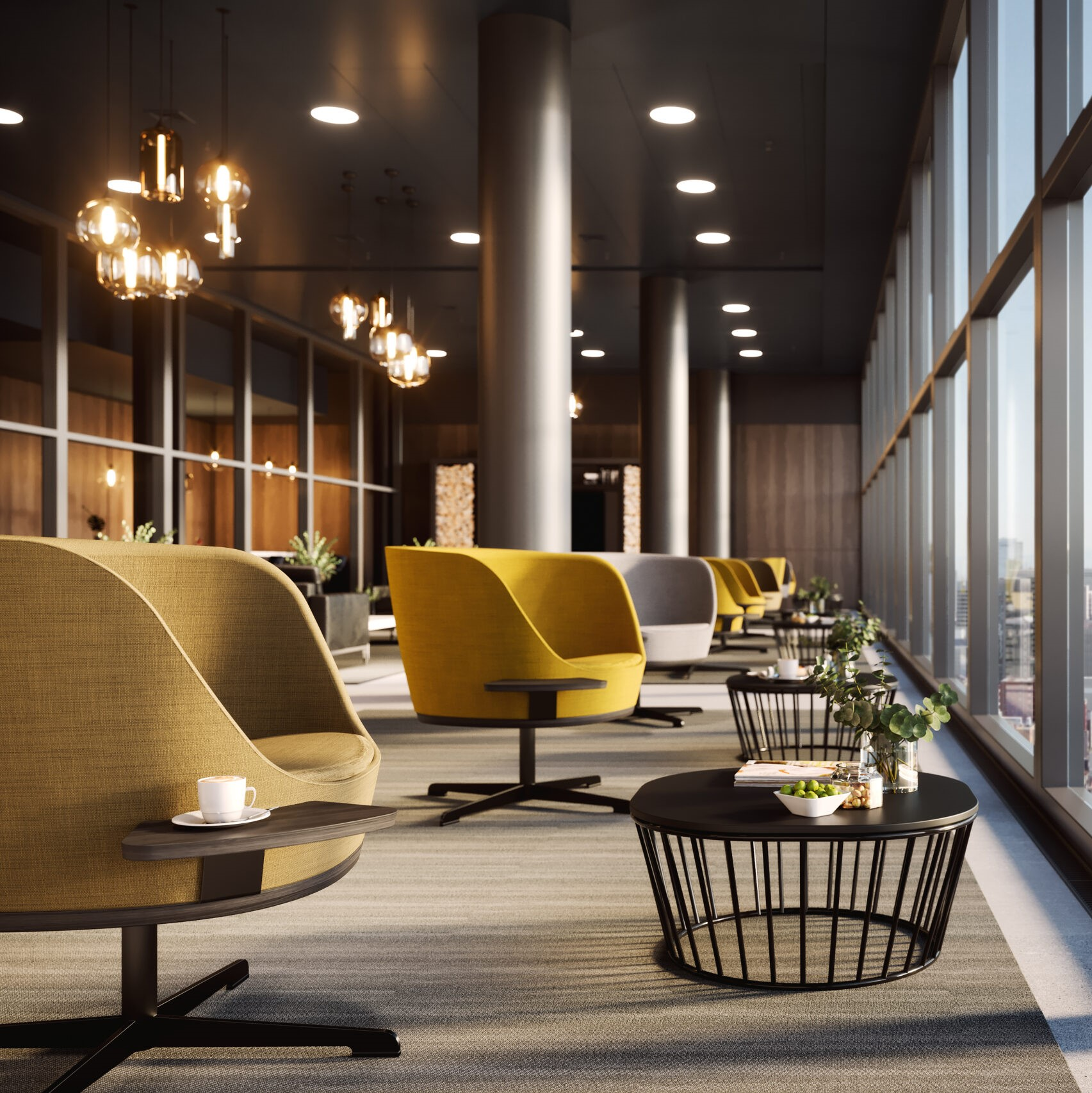 Office design will respond to the events of the past year as it always has – by getting better