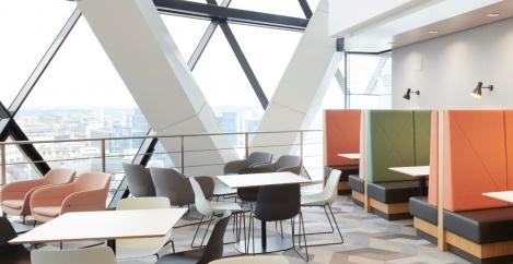 KI helps transform RFIB headquarters in The Gherkin