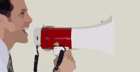 The brain-dead megaphone of work