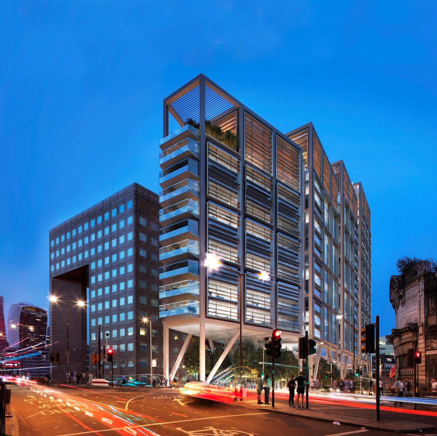 Plan submitted for London`s first net-zero carbon commercial property