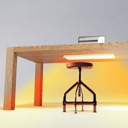 under-desk heater