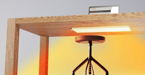 New under-desk heater enables 2-3 degree reduction in ambient temperature of offices