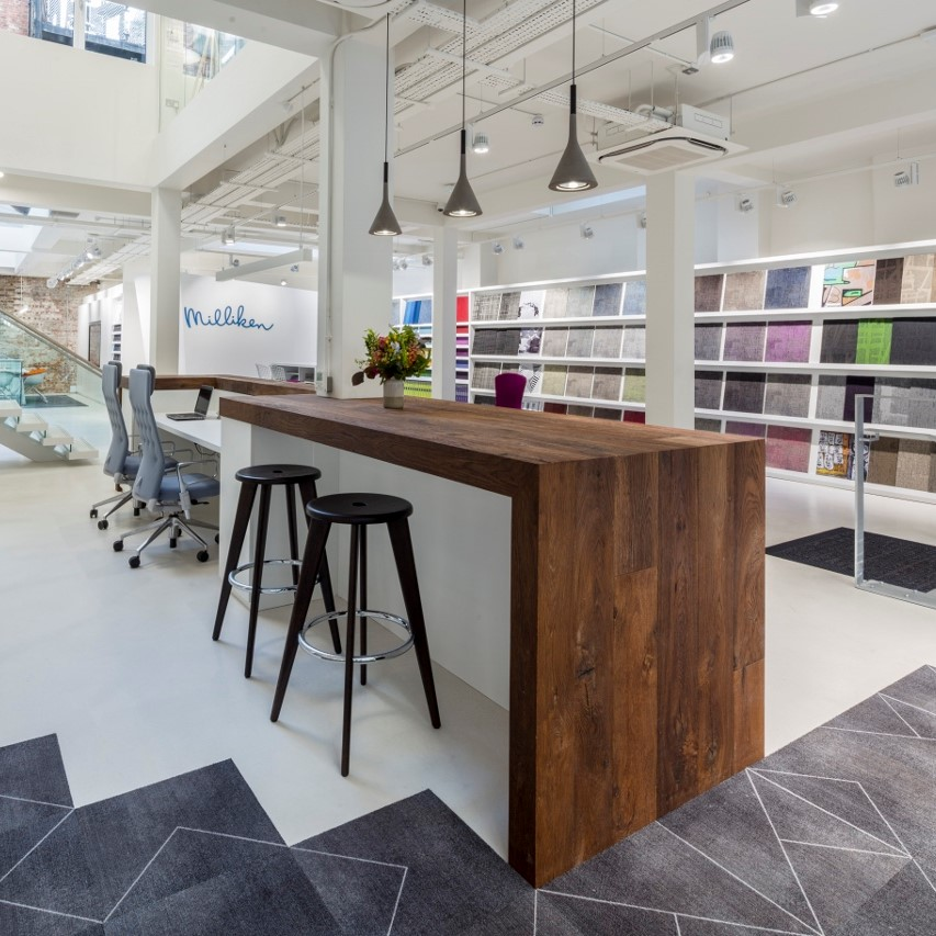 Milliken's London showroom becomes first in the UK to receive Well Certification