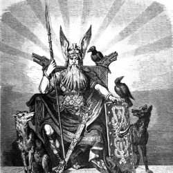 An image of Odin to illustrate the hybrid workplace saga