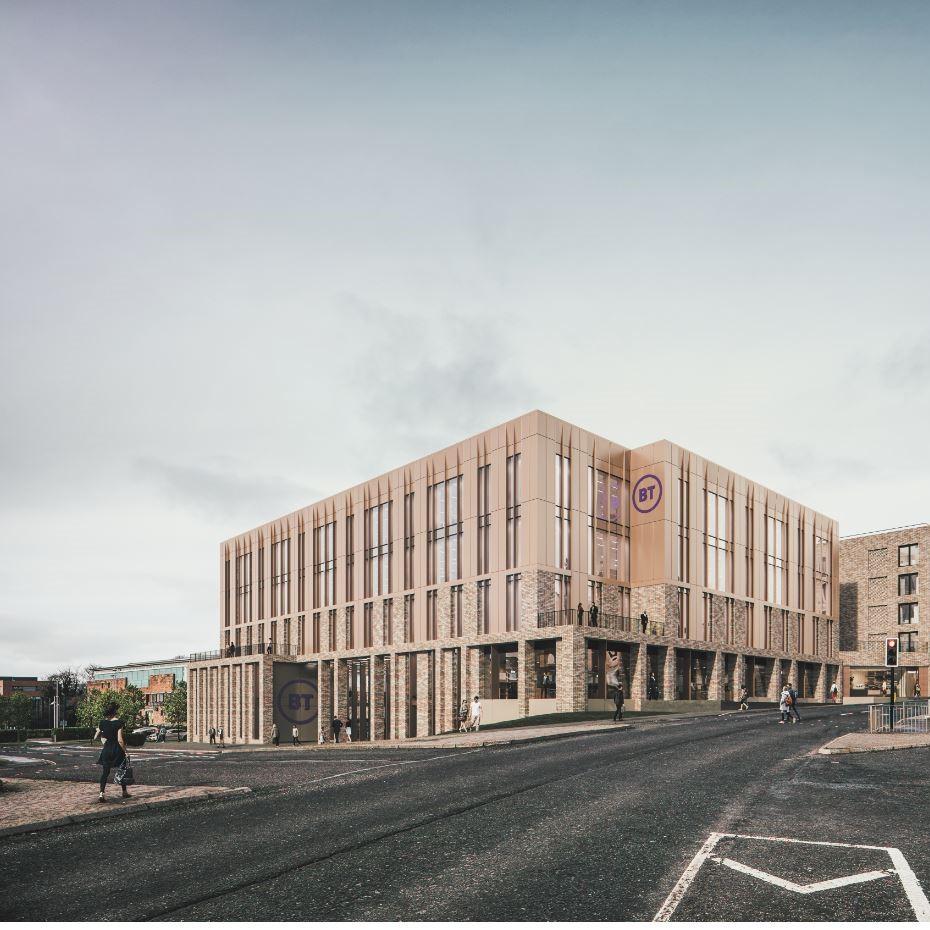 BT invests in landmark new Dundee office development