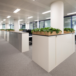 ISDA's new City of London office features KI desks, storage & meeting tables