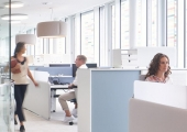 Office occupancy rates hit their highest levels since March 2020