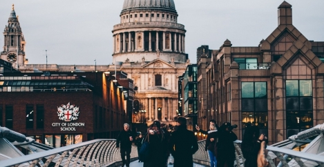 London ranks 78th in the top destinations to work remotely